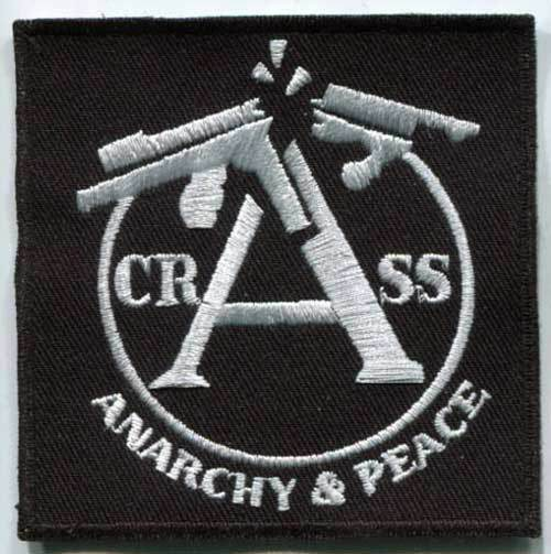 Crass Anarchy Peace United Rebels